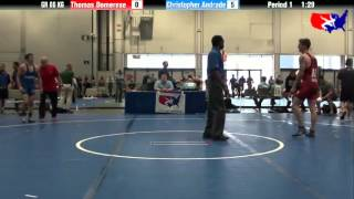 Thomas Domerese vs. Christopher Andrade at 2013 Las Vegas/ASICS U.S. Open