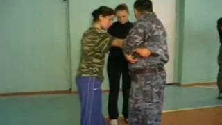 Обучение русскому рукопашному бою женщин.Соловьёв.