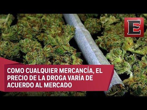 El precio de la mariguana en M�xico