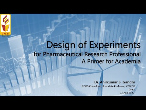 Day 1: Design Of Experiments In Pharmaceutical Research & Development A Primer For Academia