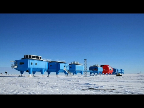 Antarctica Research Station Pulled 23km To Avoid Gigantic Cracks In Ice