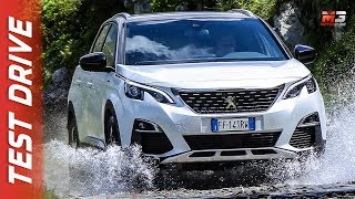 NEW PEUGEOT 3008 - 5008 EAT8 2018 - FIRST TEST DRIVE