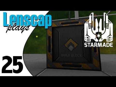 Lenscap Plays StarMade - Ep 25 - Salty Shipyard