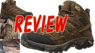 Merrell Men's Moab 2 Mid Waterproof Hiking Boot, Earth, 10 5 M US