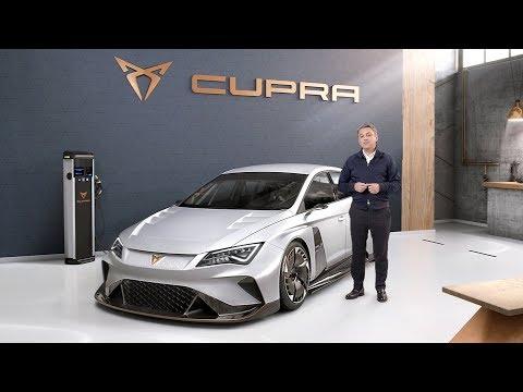 CUPRA e-Racer World Premiere - SEAT Geneva Motor Show 2018 Press Conference