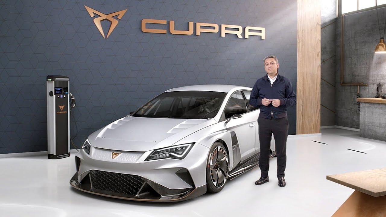 Cupra E Racer World Premiere Seat Geneva Motor Show 2018 Press Conference