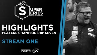 Stream One Highlights | Day Three | PDC Super Series II