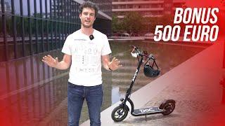 ARTICOLO ⇩ https://bit.ly/2AnwPmh Come funziona il bonus da 500 euro per l'acquisto di monopattini elettrici, biciclette e altri mezzi di micro mobilità elettrica e ...