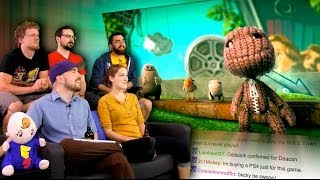 Little Big Planet 3 Announcement! - E3 2014 is AWESOME! - Part 5