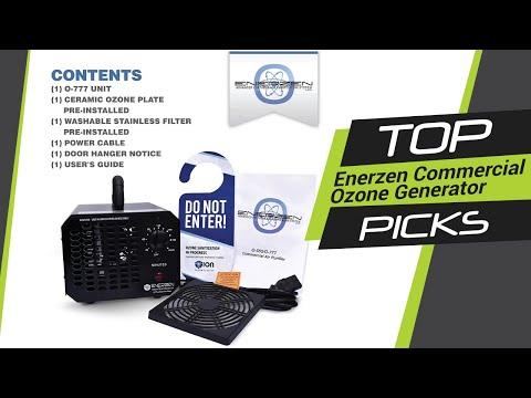 Enerzen Commercial Ozone Generator - YouTube