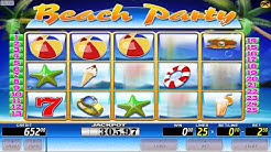 CasinoOnlineRating.com - Beach Party - Game Review