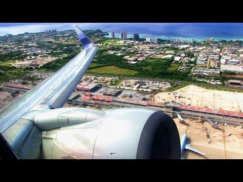 China Airlines B737 Takeoff Guam