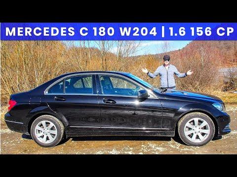 200.000 km: Mercedes C 180 (W204) | 1.6 - 156 CP - 240 Nm  | 2013 használt autó teszt és bemutató