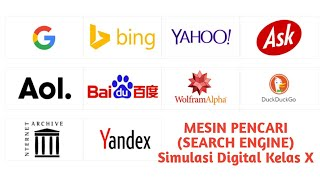 Mesin Pencari  Search Engine  | Simulasi Digital | Kelas X