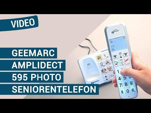 Geemarc AmpliDECT 595 Photo Schwerhörigen-Telefon