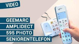 Produktvideo zu Großtasten-Telefon Geemarc AmpliDECT 595 Photo