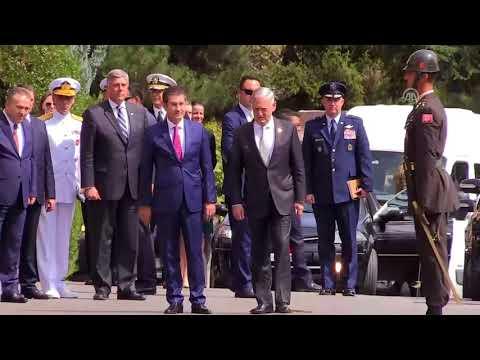 Milli Savunma Bakanı Nurettin Canikli, ABD'li mevkidaşı James Mattis ile görüştü