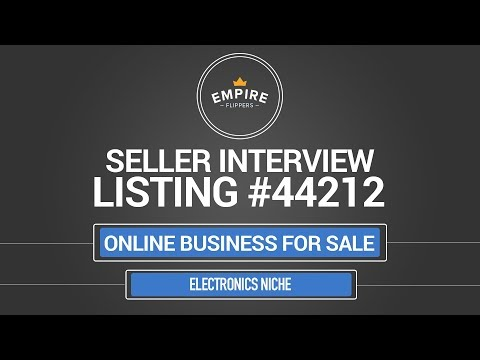 Online Business For Sale – $4.2K/month in the Electronics Niche
