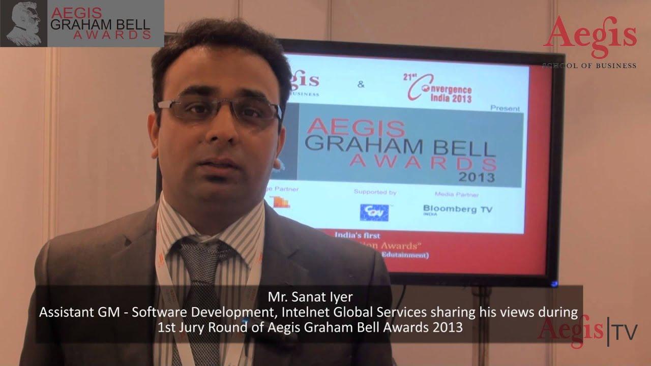 Mr. Sanat Iyer, AGM-SD   Intelnet Global Services at 1st ...