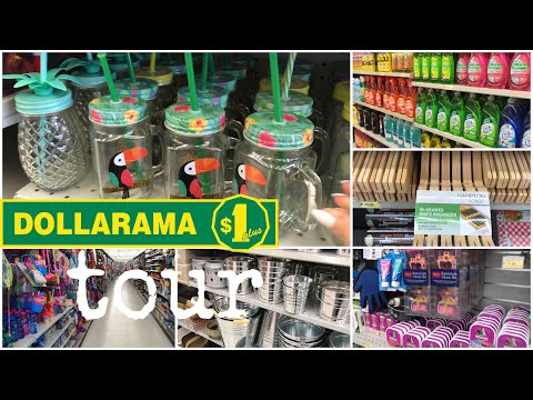 DOLLARAMA TOUR FULL STORE