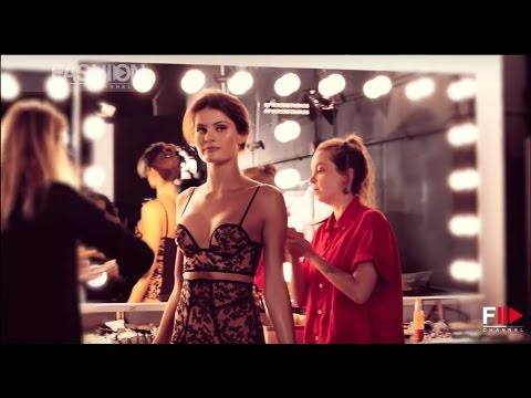 Kendall Jenner for LA PERLA Backstage Spring Summer 2017 Collection by Fashion Channel