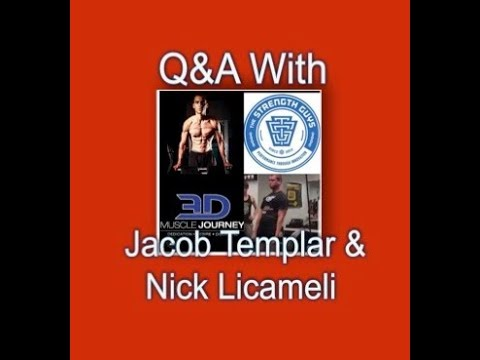 Discussion and Q&A With Jacob Templar and Nick Licameli
