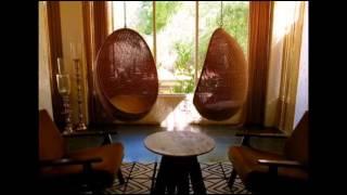 Подвесные кресла -  романтика в доме(Посидеть в подвесном кресле - это замечательный способ избавиться от накопившейся за день усталости, а..., 2015-01-07T20:42:50.000Z)