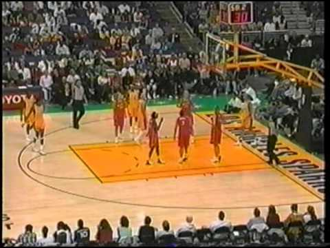 Classic WNBA: Phoenix Mercury vs. Los Angeles Sparks (July 5th, 2004)