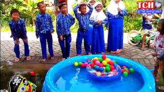 kolam air mainan anak   mandi bola   balon karakter spongebob  rc air swimmer shark