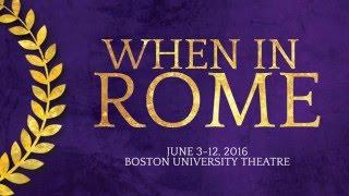 Odyssey Opera announces WHEN IN ROME