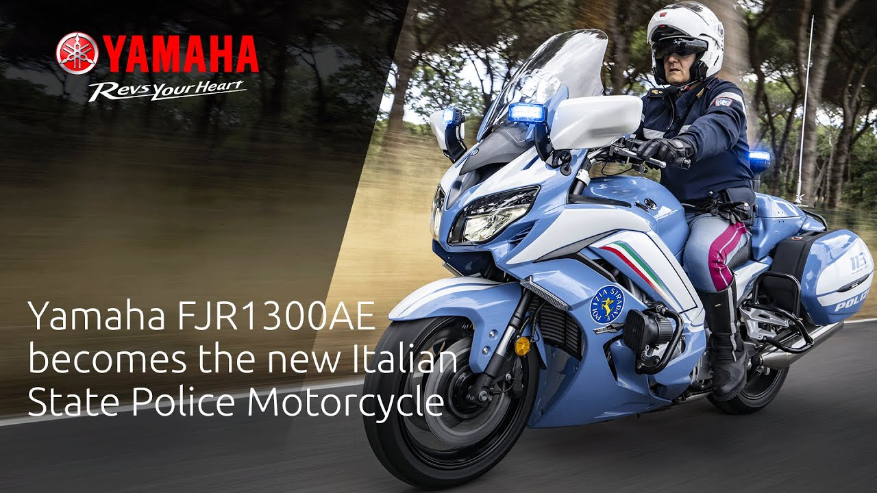 Yamaha FJR1300AE becomes the new Italian State Police Motorcycle