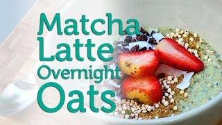 Tweak & Eat Recipe: Minty Matcha Overnight Oats