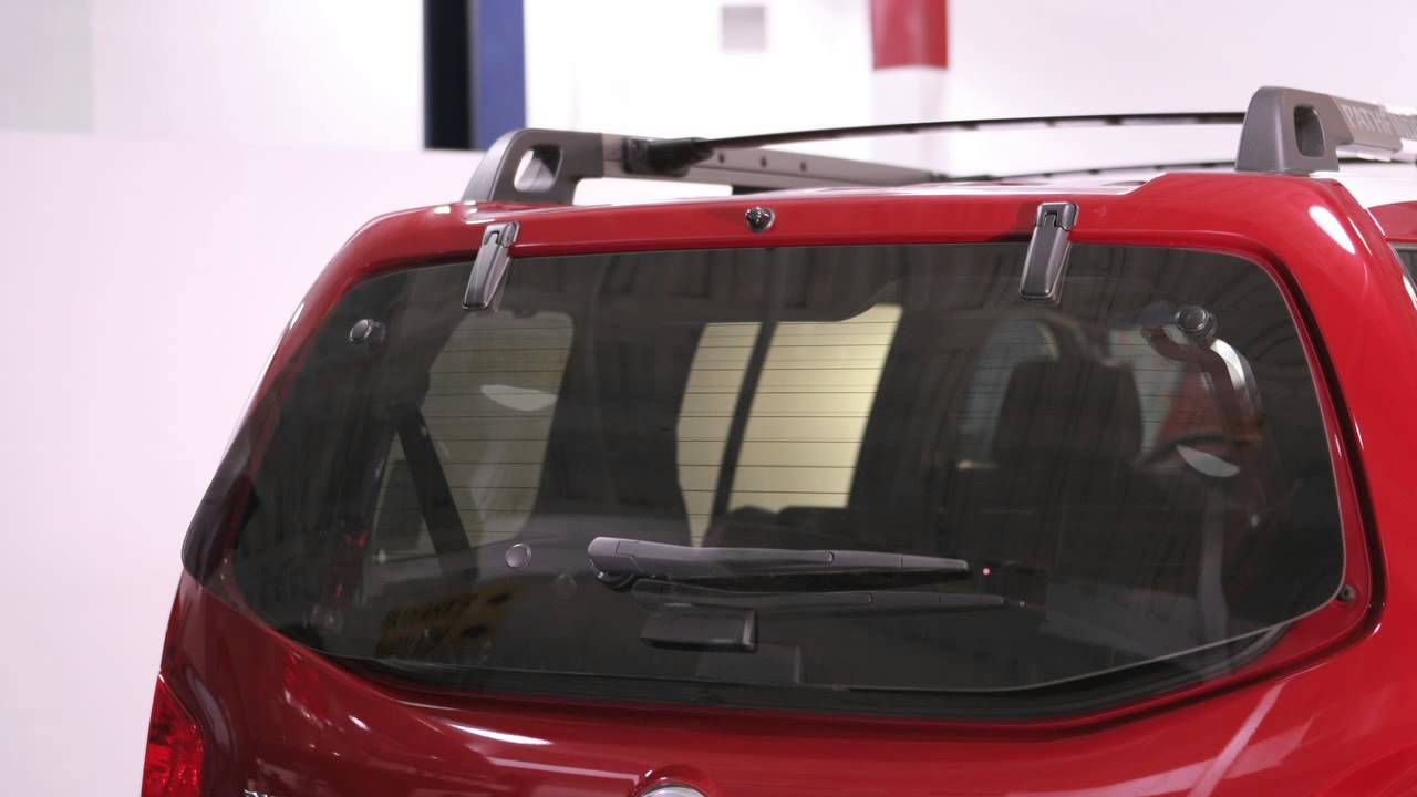 2012 Nissan Pathfinder Rear Glass Hatch Youtube