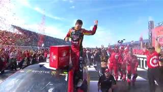 Фото с обложки Truex Jr. Wins The First Two Stages, Larson Gets The Win
