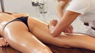 Медовый массаж от целлюлита.