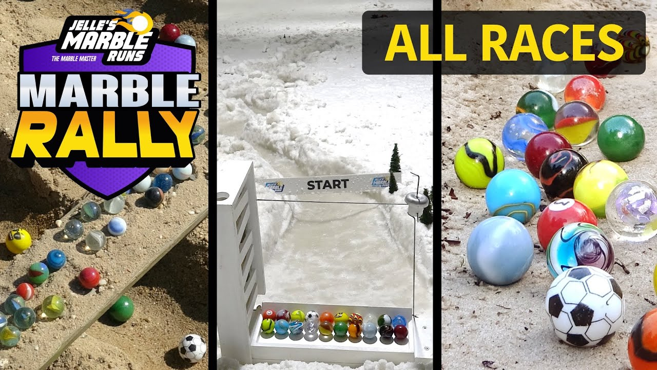 Marble Rally S5 - ALL RACES!
