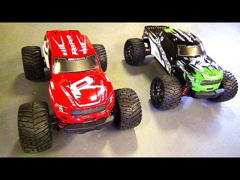 """RC ADVENTURES - New CEN Racing """"REEPER"""" 1/7th scale RC Monster Truck!  Lets Unbox it / Colossus XT"""
