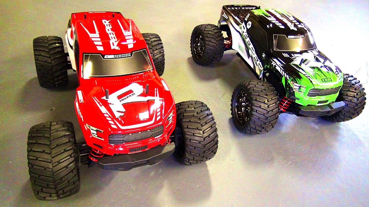 Rc Adventures New Cen Racing Reeper 1 7th Scale Rc Monster