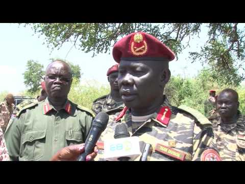 SPLA Army Marks 25KM Juba,South Sudan