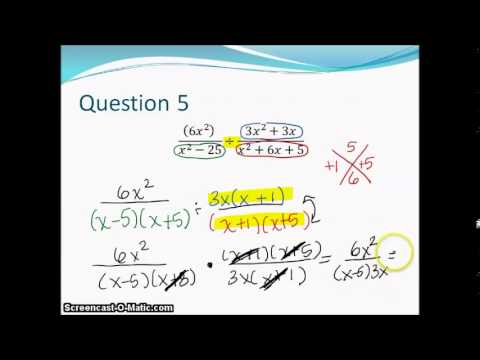 #1 3 5 7 9 for Review for Rational Functions Test