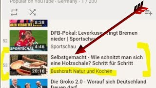 +++ News - Mein Video ist in den YouTube Trends gelandet! +++ DANKE Leute!!!