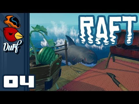 Let's Play Raft [Multiplayer] - PC Gameplay Part 4 - Diving For Mud!