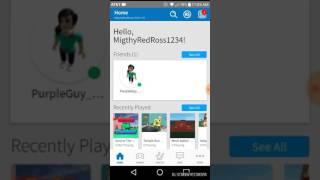 My old account on Roblox