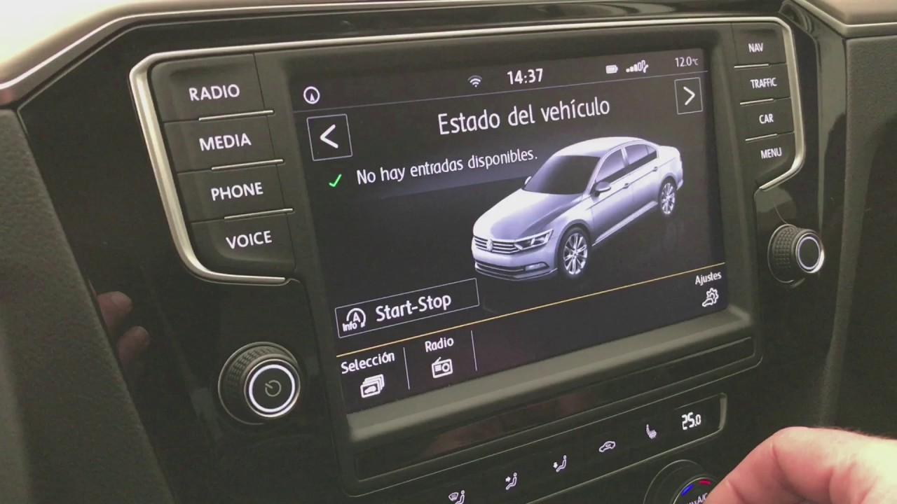 passat carplay y android auto youtube. Black Bedroom Furniture Sets. Home Design Ideas