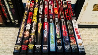 WWE Raw PPV DVD Collection Review (2016 - 2018)