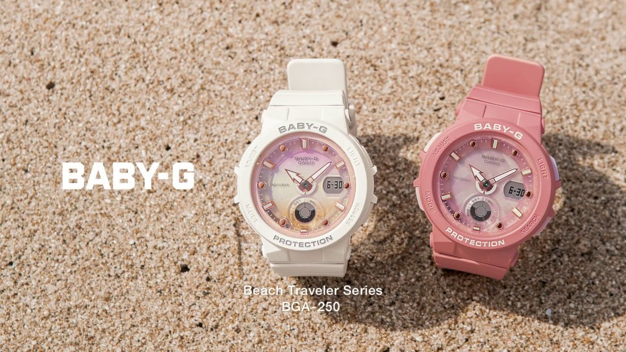 091894fc1a9de CASIO BABY-G 2018 Spring  Summer Promotion Movie - YouTube
