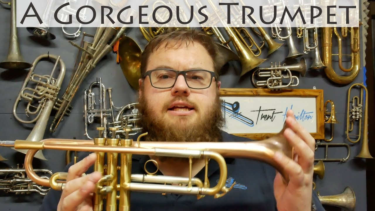 A Gorgeous Classical Trumpet for $350 | SDTR-2019HD
