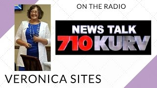 Live on the Radio in Rio Grande Valley | Veronica Sites