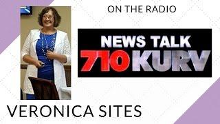 Live on the Radio in Rio Grande Valley | Veronica Sites