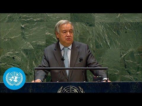🇺🇳 Secretary-General Addresses General Debate, 75th Session
